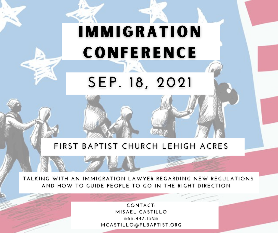 Immigration Conference, Migrant Ministry