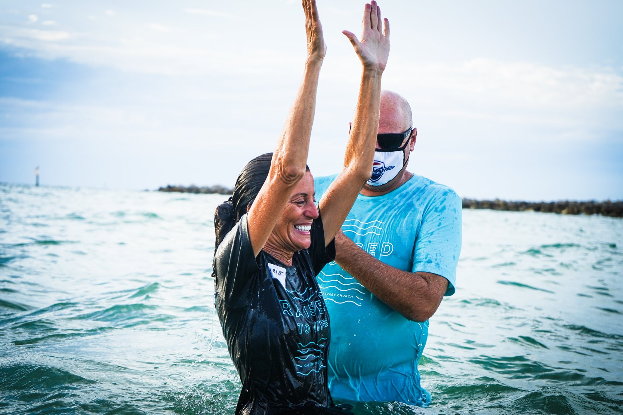 Baptism, Calvary Church Clearwater