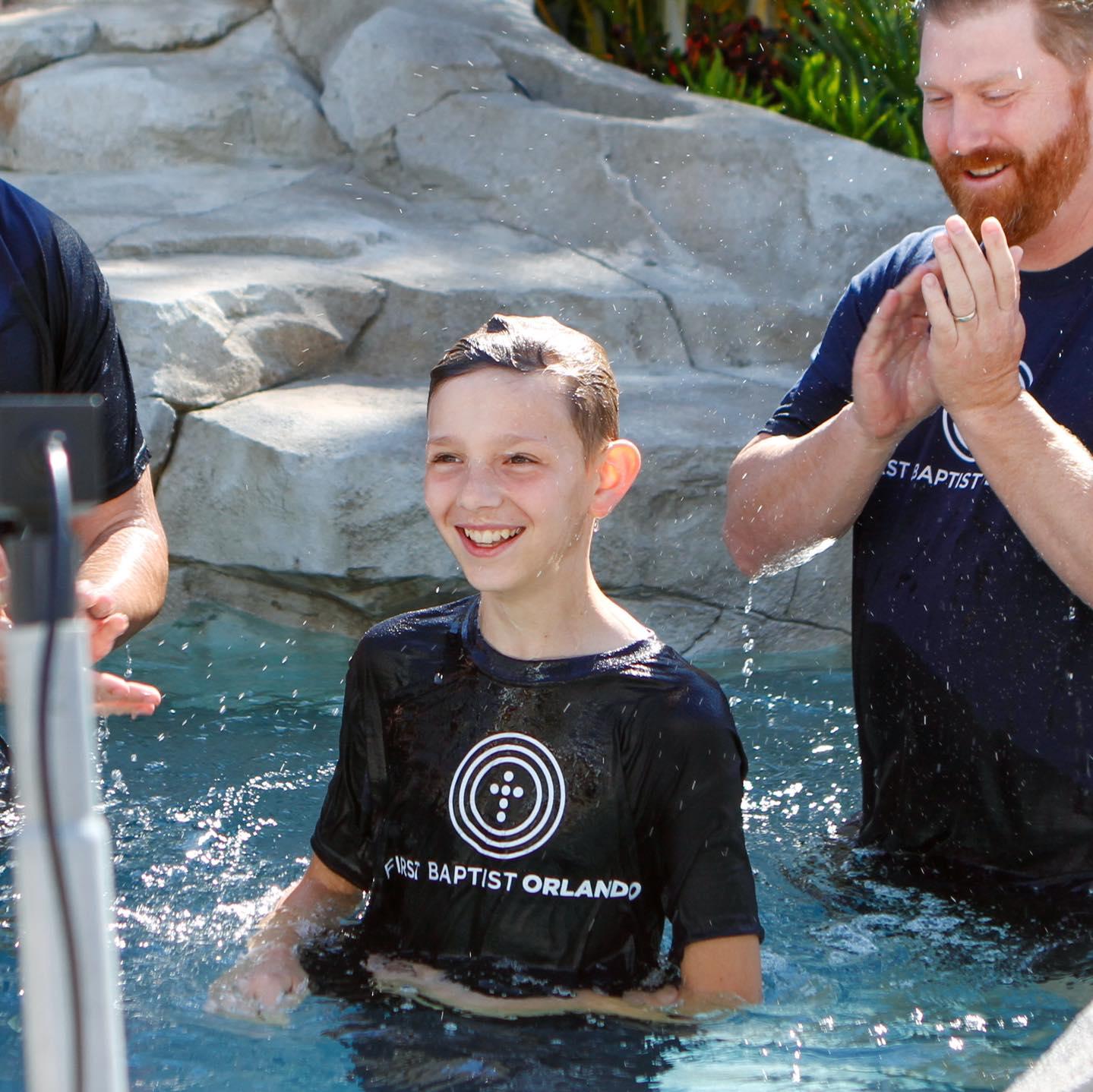 Baptism, First Baptist Church Orlando
