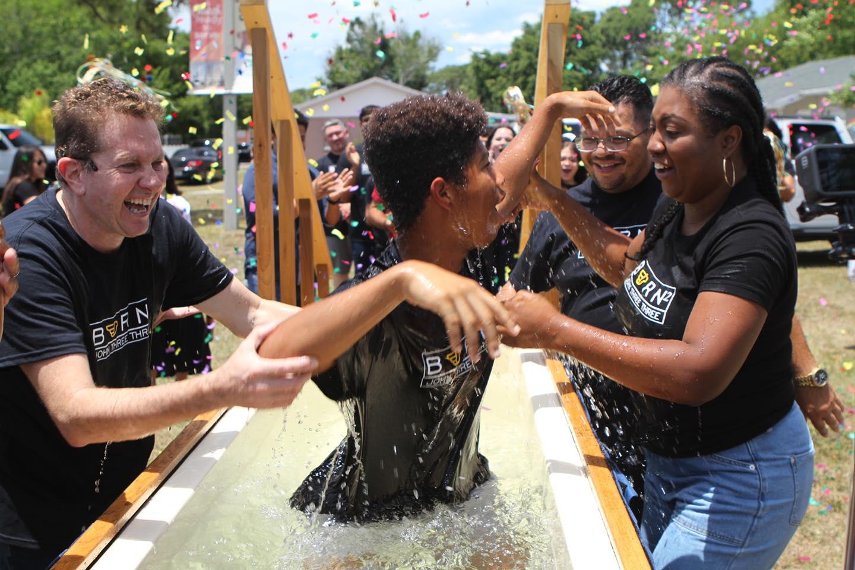 Baptism, Igreja da Paz