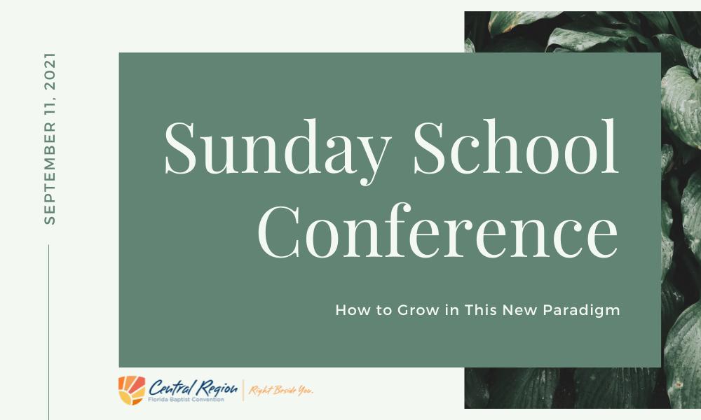 Sunday school Conference
