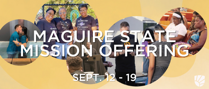 Maguire State Mission Offering