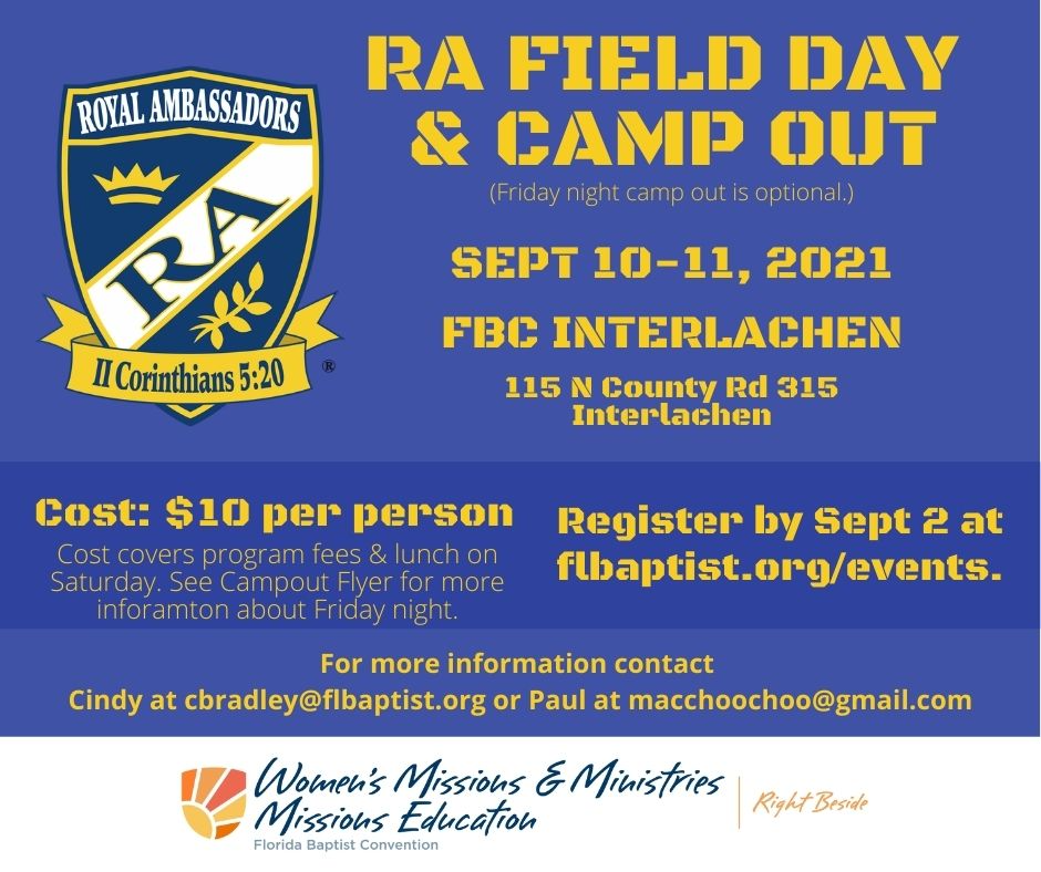RA Field Day & Camp Out